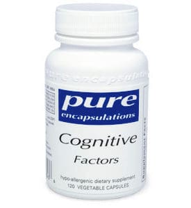 Cognitive Factors 120 vcaps by Pure Encapsulations