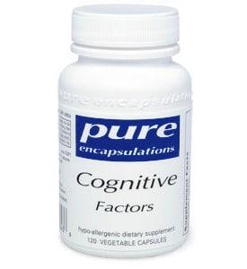 Cognitive Factors 120 vcaps by Pure Encapsulations