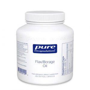 Flax/Borage Oil 250sg by Pure Encapsulations