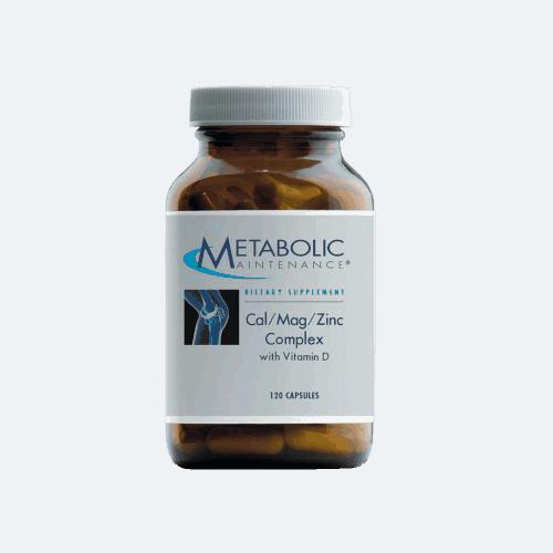 CalMagZinc with Vitamin D by MEtabolic Maintenance