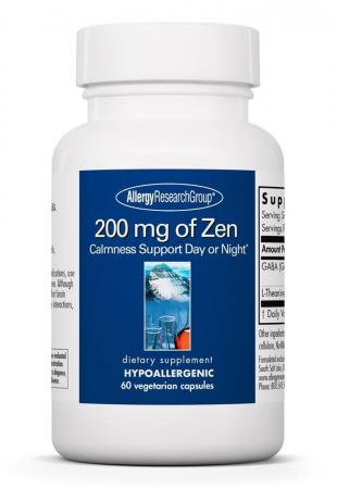 200mg Of Zen 60c By Allergy Research Group