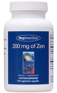 200mg of Zen 120c by Allergy Research Group