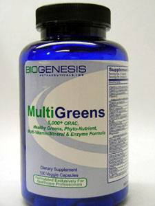 Multigreens 150 vcaps by Biogenesis