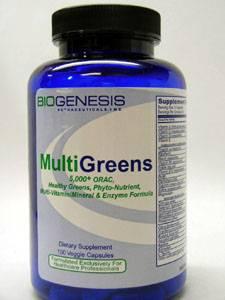 Multigreens 150 vcaps by Biogenesis