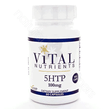 5-HTP 100mg 60c by Vital Nutrients