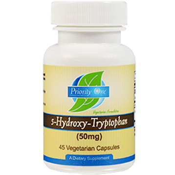 5-HTP 50mg 45c by Priority One