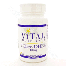 7-Keto DHEA 100mg 60c by Vital Nutrients
