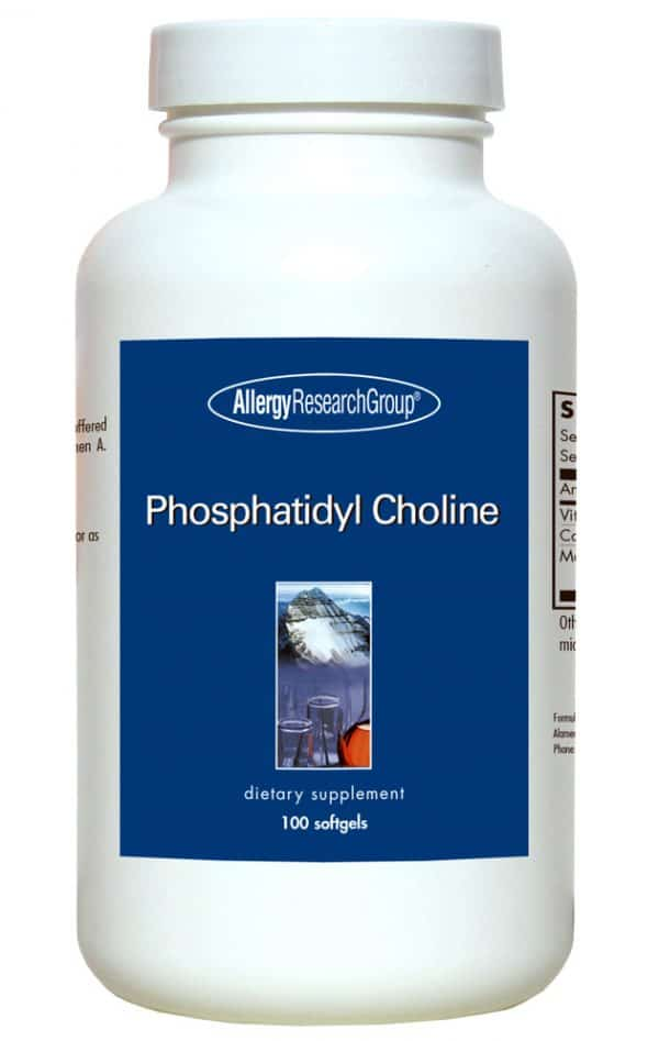 Phosphatidyl Choline by Allergy Research  100 soft gels 1
