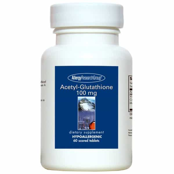 Acetyl Glutathione 60t By Allergy Research Group
