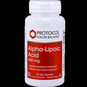 alpha lipoic acid 250mg 90vcaps by protocol