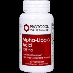 alpha lipoic acid 600mg plus 60c by protocol