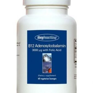 B12 Adenosylcobalamin 3,000mg 60 Veg Lozenges By Allergy Research Group