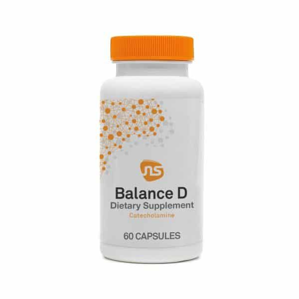 balance d 60 caps by neuroscience