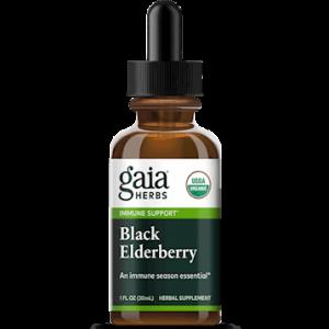 black elderberry 1oz by gaia herbs