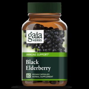 black elderberry 60c by gaia herbs