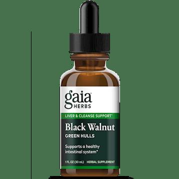 black walnut hulls 1oz by gaia herbs