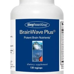 Brainwaves Plus 120 Vcaps By Allergy Research Group