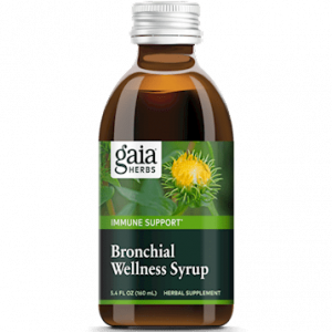 bronchial wellness herbal syrup 5.4oz by gaia herbs