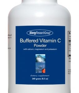 Buffered Vitamin C Powder 240 Grams By Allergy Research Group
