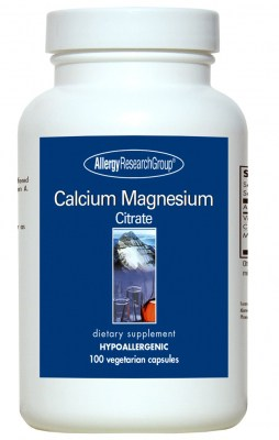 Calcium Magnesium Citrate 100vcaps By Allergy Research Group