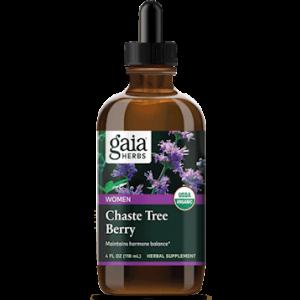 chaste tree berry 4oz by gaia herbs