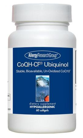 Coqh Cf Ubiquinol 60 Sgels By Allergy Research Group