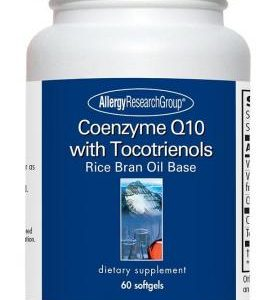 Coenzyme Q10 With Tocotrienols 60 Sgels By Allergy Research Group