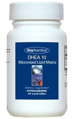Dhea 10mg Micronized Lipid Matrix 60t By Allergy Research Group