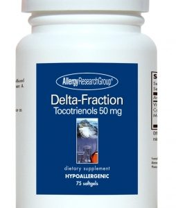 Delta Fraction Tocotrienols 125mg 90sg By Allergy Research Group