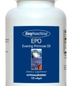 Epo Evening Primrose Oil 120sg By Allergy Research Group