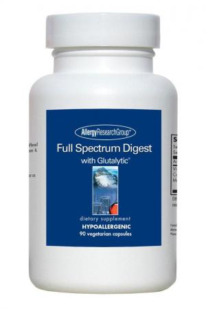 Full Spectrum With Glutalytic 90 Vcaps By Allergy Research Group