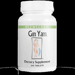 gin yam 240 tabs by bezwecken