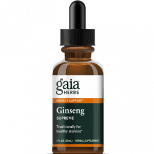 ginseng supreme 1oz by gaia herbs