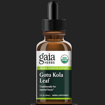 gotu kola leaf & root 1oz by gaia herbs