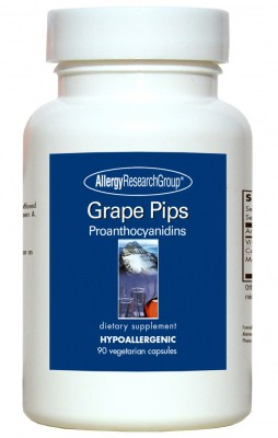 Grape Pips 90vcaps By Allergy Research Group