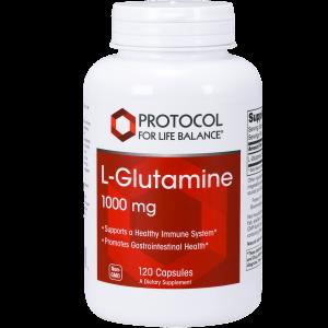l glutamine 1000mg 120c by protocol