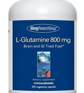 L Glutamine 800mg 250vcaps By Allergy Research Group