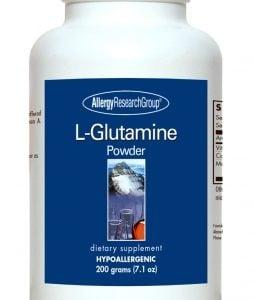 L Glutamine Powder 200g (7.1oz) By Allergy Research Group