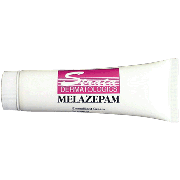 Melazepam Cream 1.76oz by Ecological Formulas 1