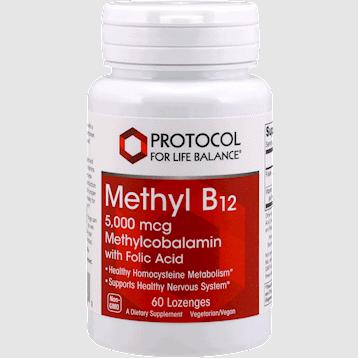 methyl b 12 5000mcg 60ct by protocol