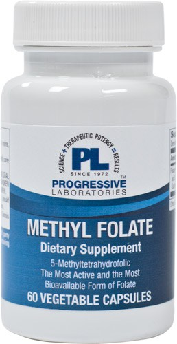 Methyl Folate 60c by Progressive Labs 1