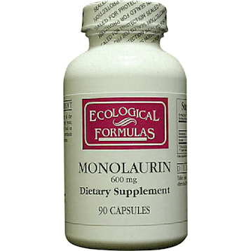 Monolaurin 600mg 90 caps by Ecological Formulas 1