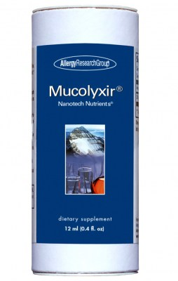 Mucolyxir 12 Ml (0.4 Fl. Oz.) By Allergy Research Group