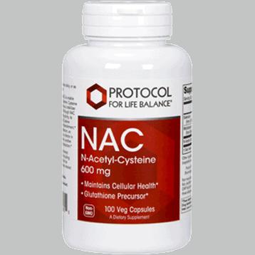 nac 600 mg 100 caps by protocol