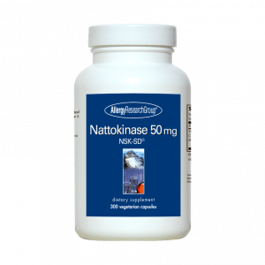 Nattokinase 50mg Nsk Sd 300vcaps By Allergy Research Group