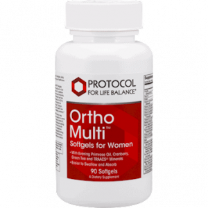 ortho multi for women 40+ 120c by protocol