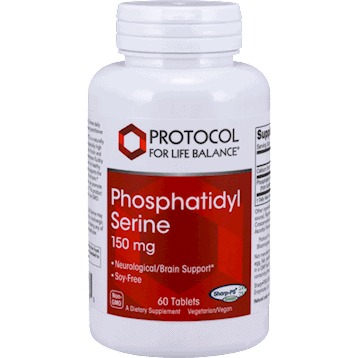 phosphatidyl serine 150mg 60 tabs by protocol