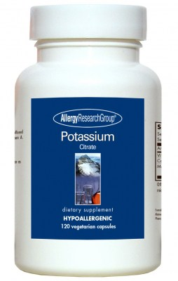 Potassium Citrate 120vcaps By Allergy Research Group
