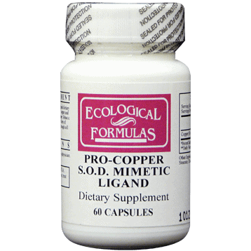Pro-Copper S.O.D. Mimetic Ligand 60c by Ecological Formulas 1