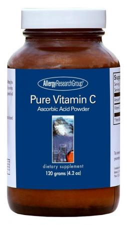 Pure Vitamin C Powder 120g By Allergy Research Group
